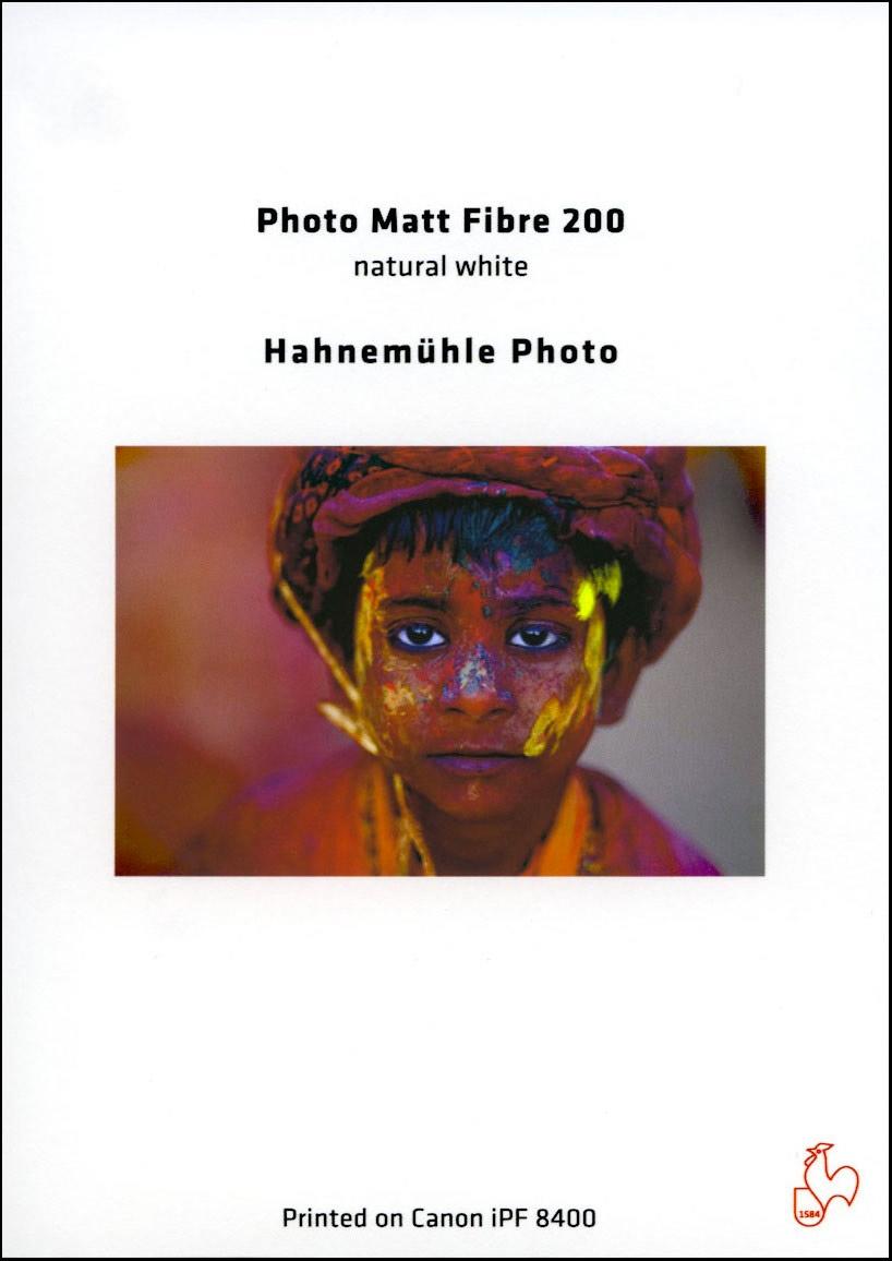 HAHNEMÜHLE inkjet Photo Matt Fibre 200 A3+/25 listů