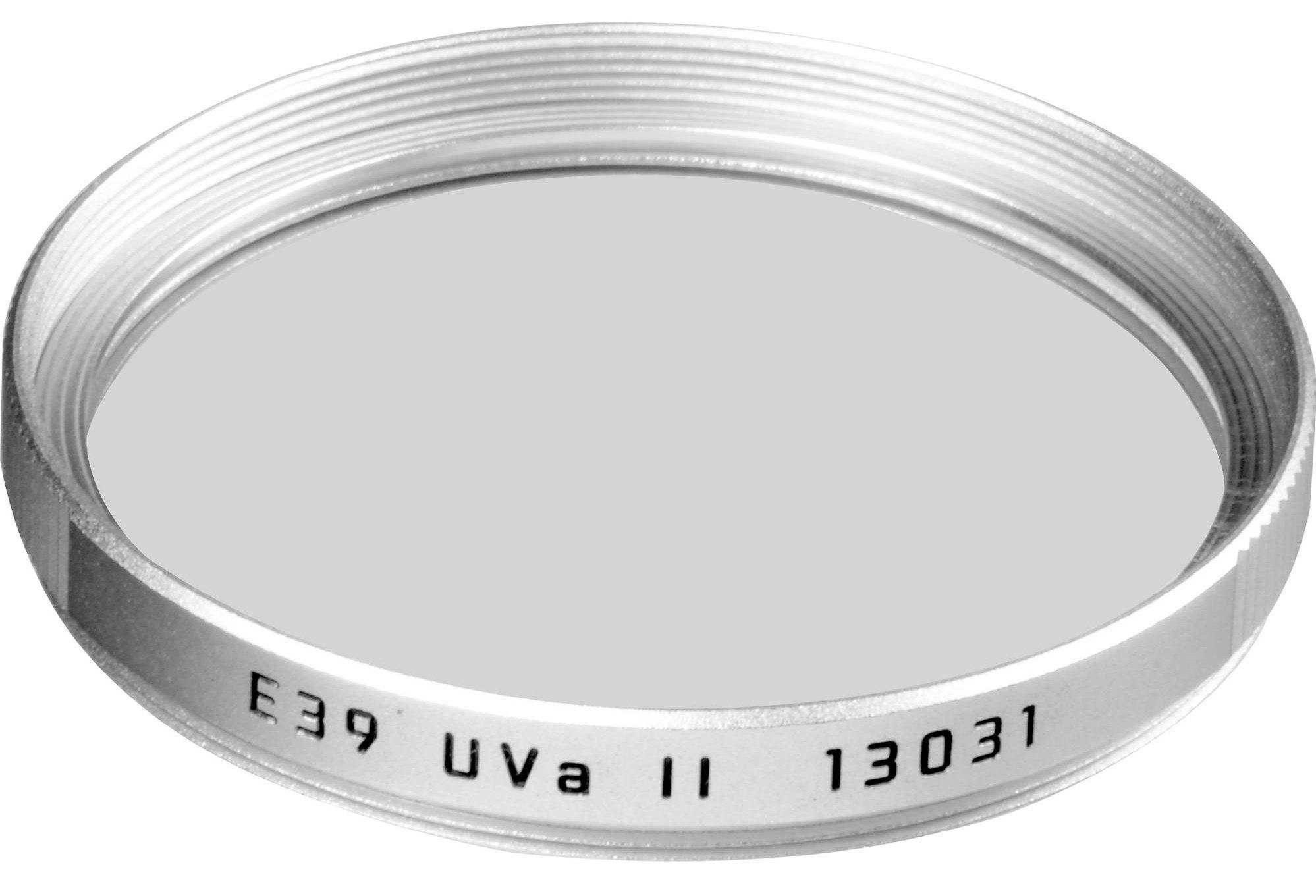 LEICA filtr UVa II 39 mm stříbrný