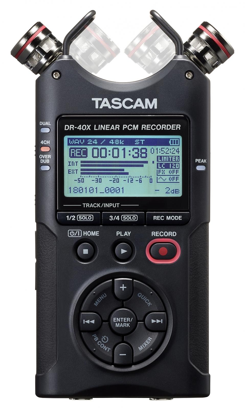 TASCAM DR-40X přenosný stereo rekordér