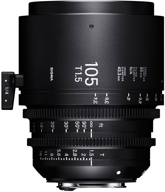 SIGMA 105 mm T1,5 FF FL EF-mount