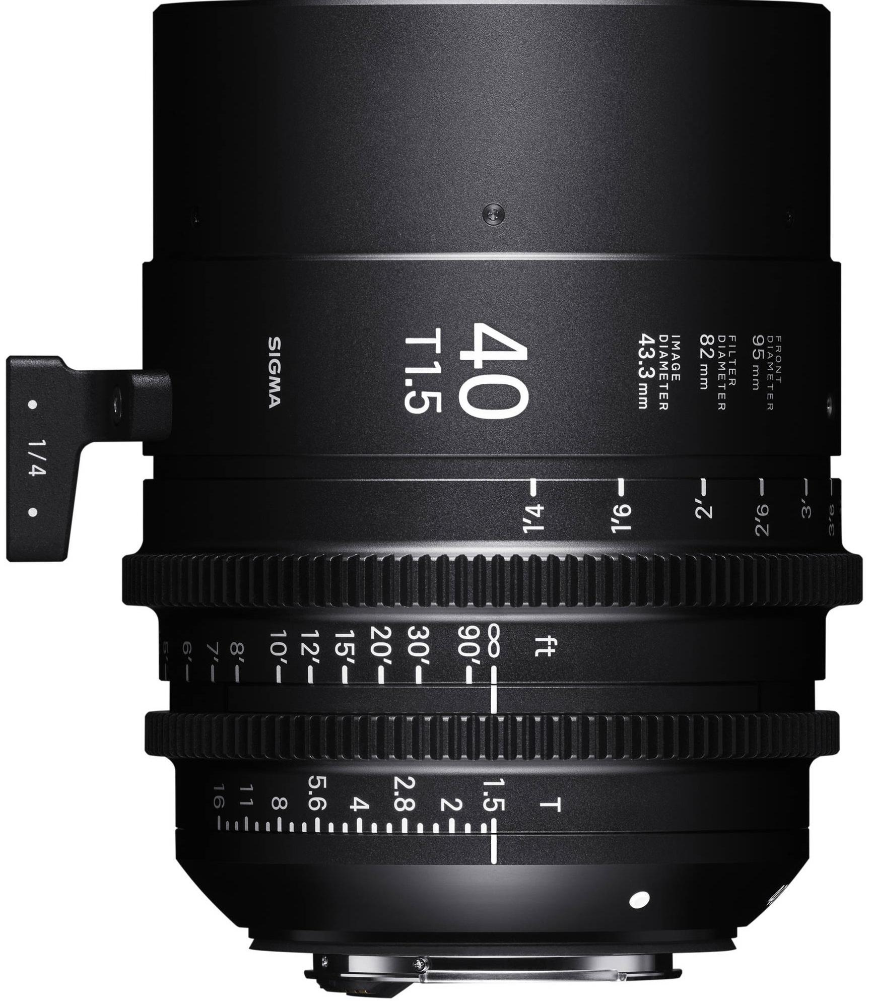 SIGMA 40 mm T1,5 FF FL EF-mount