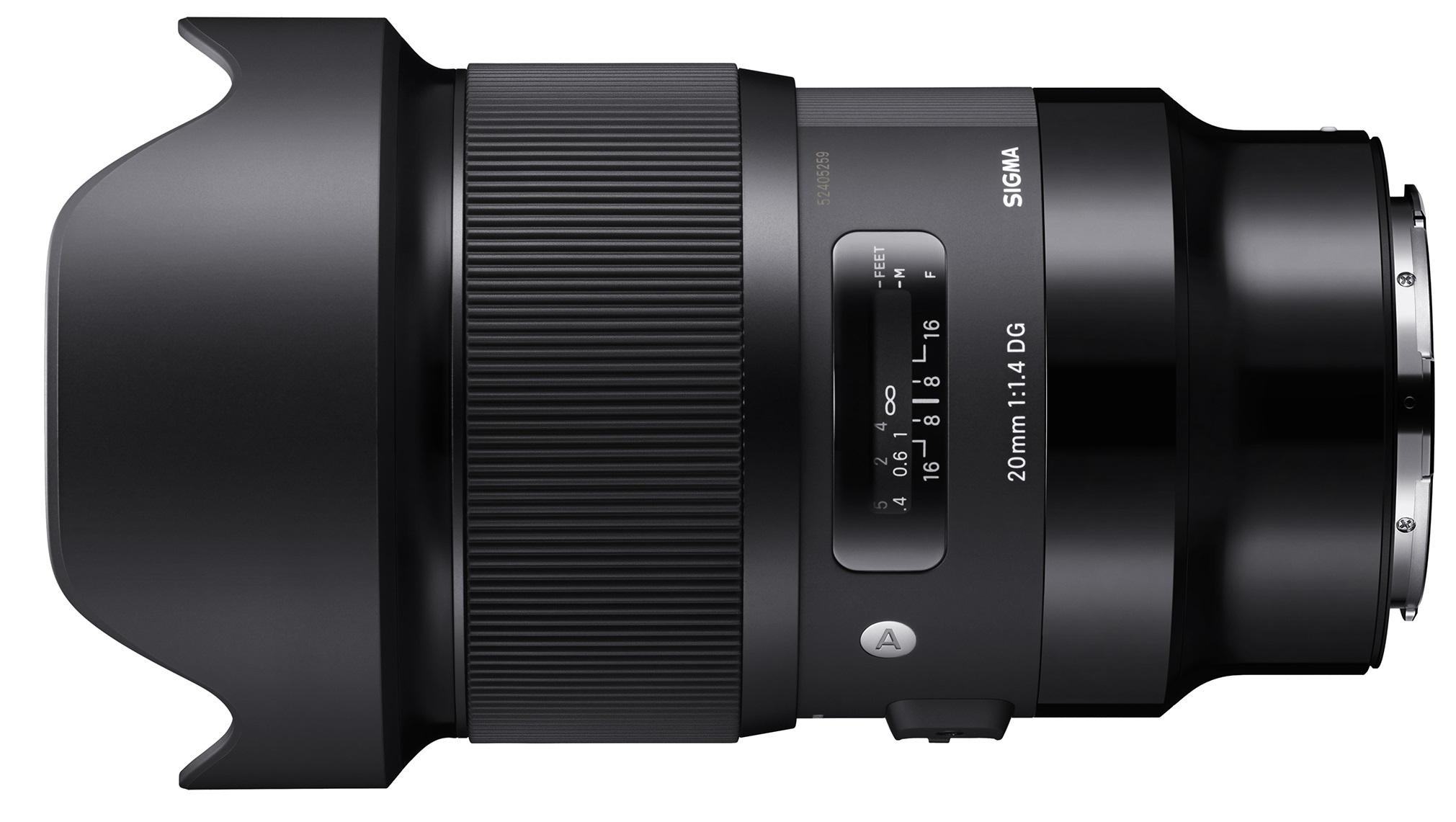 SIGMA 20 mm f/1,4 DG HSM Art pro Panasonic/Leica L