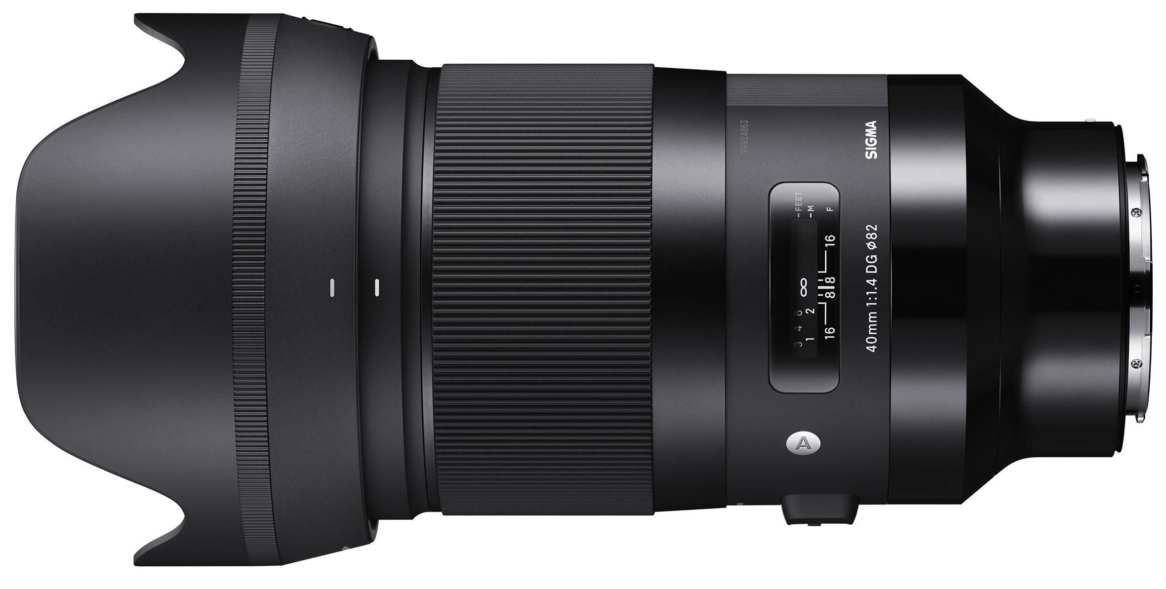 SIGMA 40 mm f/1,4 DG HSM Art pro Panasonic/Leica L