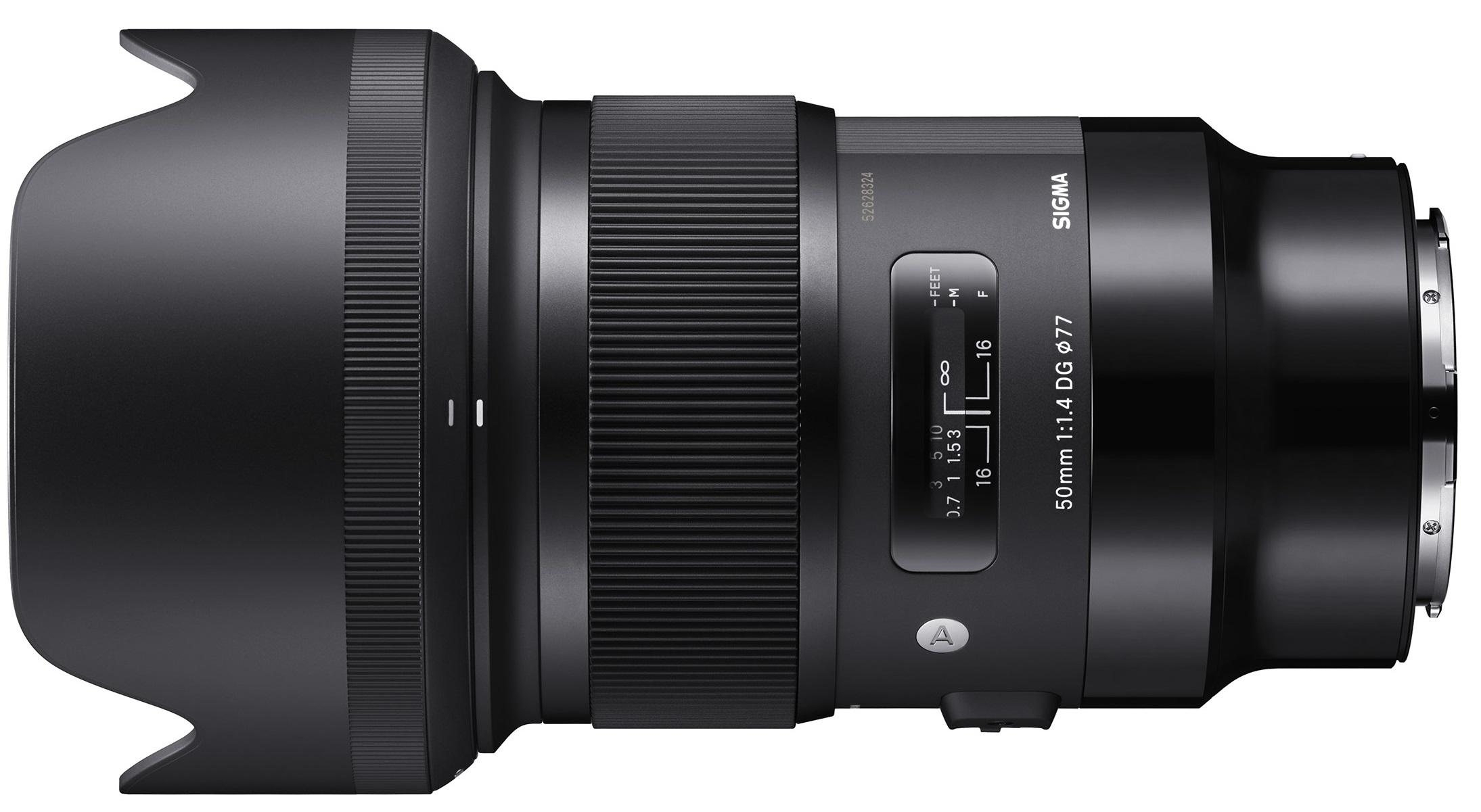 SIGMA 50 mm f/1,4 DG HSM Art pro Panasonic/Leica L