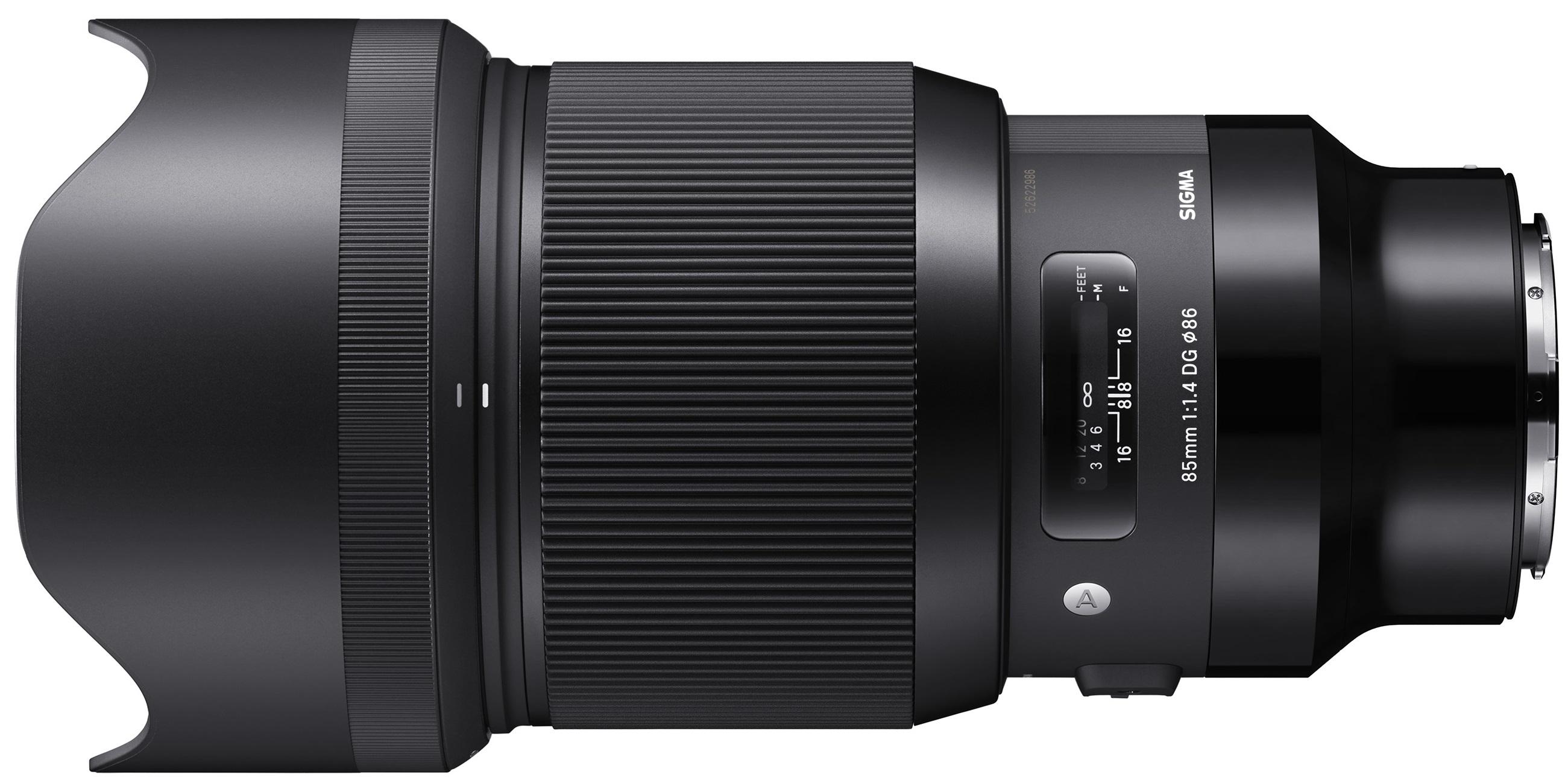 SIGMA 85 mm f/1,4 DG HSM Art pro Panasonic/Leica L