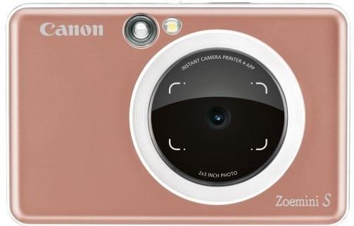 CANON Zoemini S - instantní fotoaparát - růžovozlatá