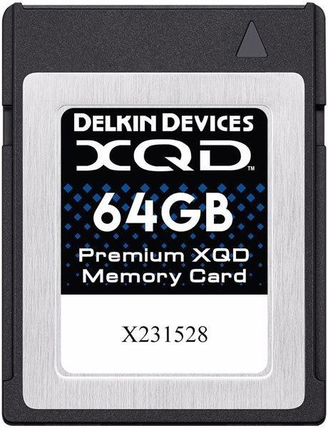DELKIN XQD 64GB 2933x R440/W400