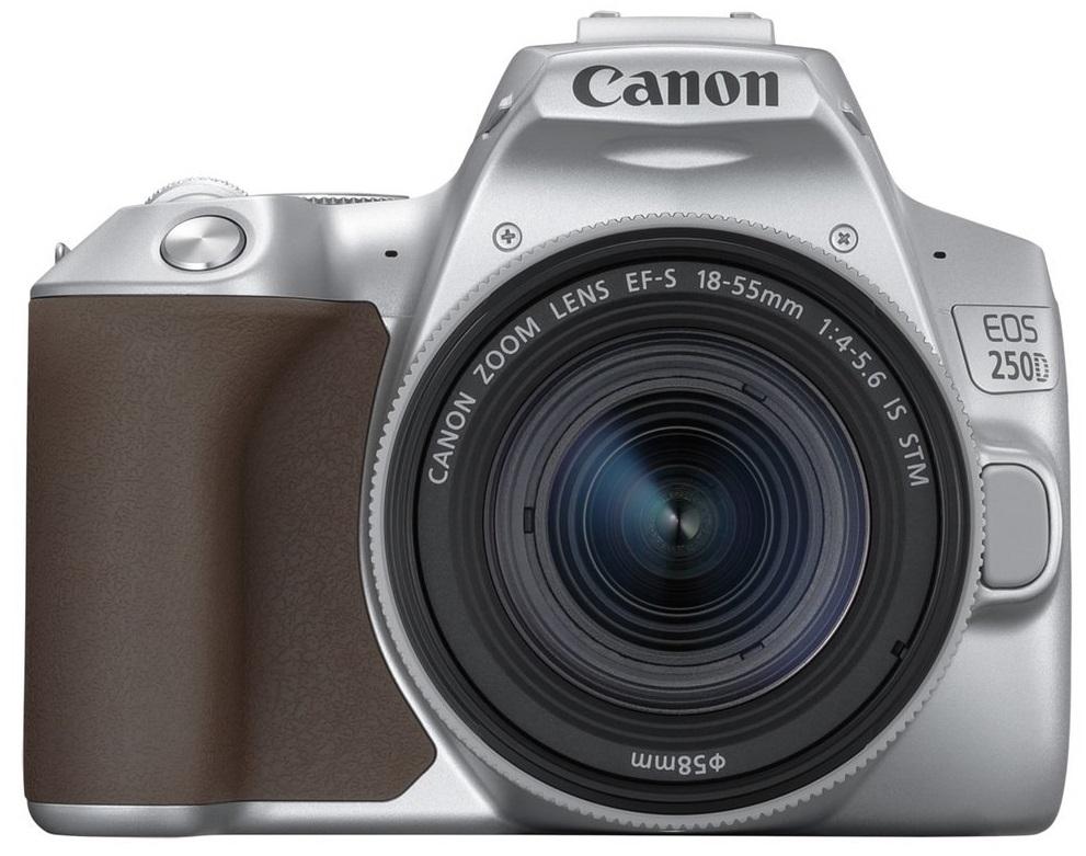 CANON EOS 250D stříbrný + 18-55 mm IS STM