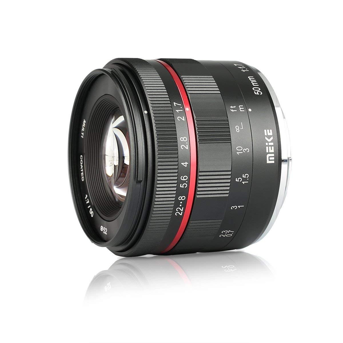 MEIKE 50 mm f/1,7 MC pro Canon EOS M