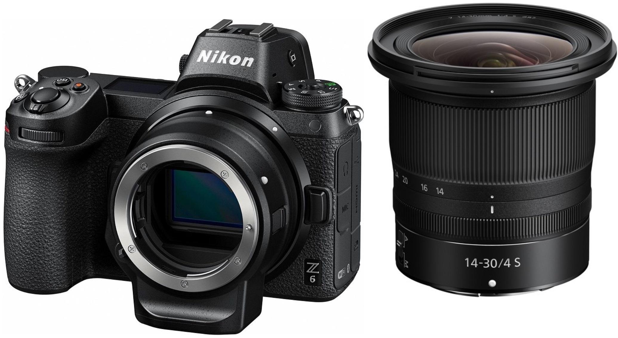 NIKON Z6 + 14-30 mm + FTZ adaptér