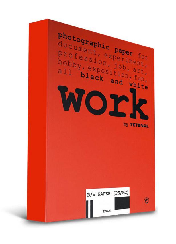 Tetenal WORK PAPER 12,7x17,8/100 B