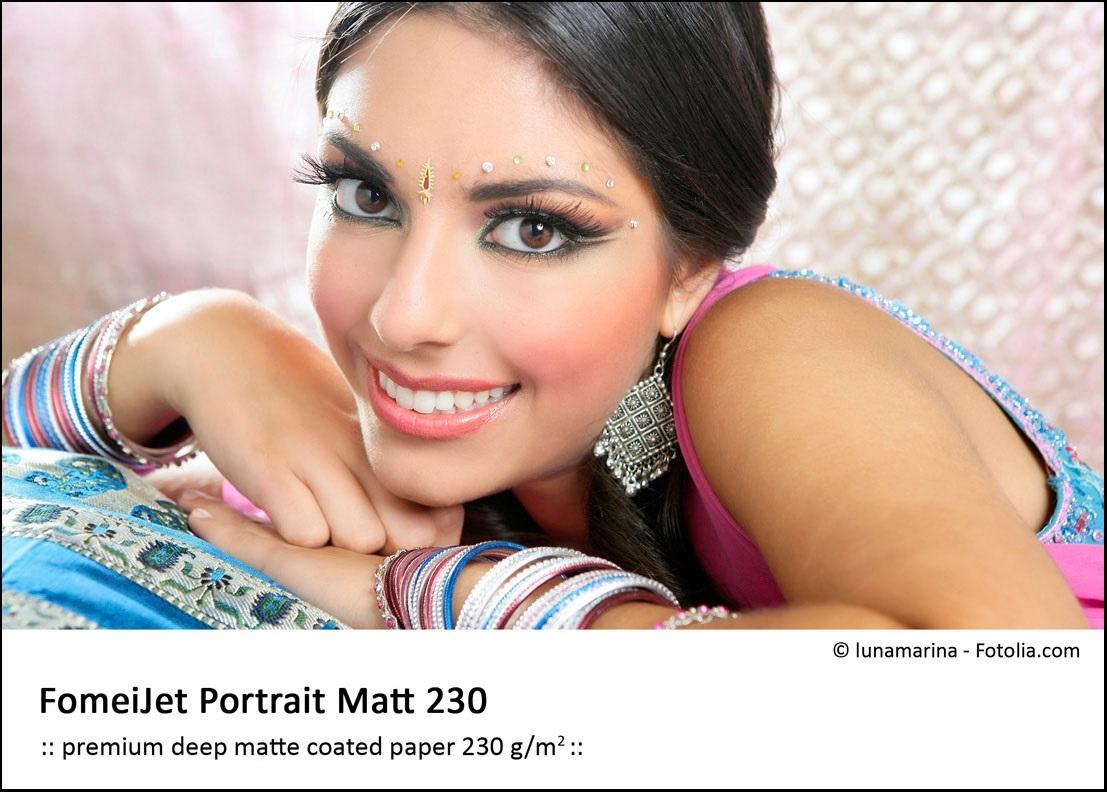 FOMEI Inkjet A4/5 FomeiJet Portrait Matt Warmtone 230, testovací balení