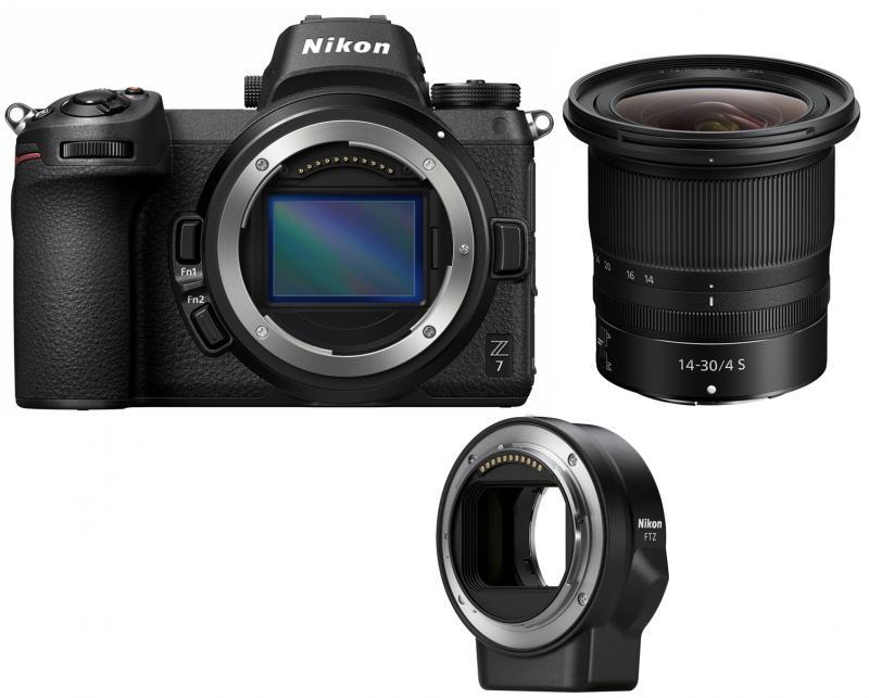 NIKON Z7 + 14-30 mm + FTZ adaptér