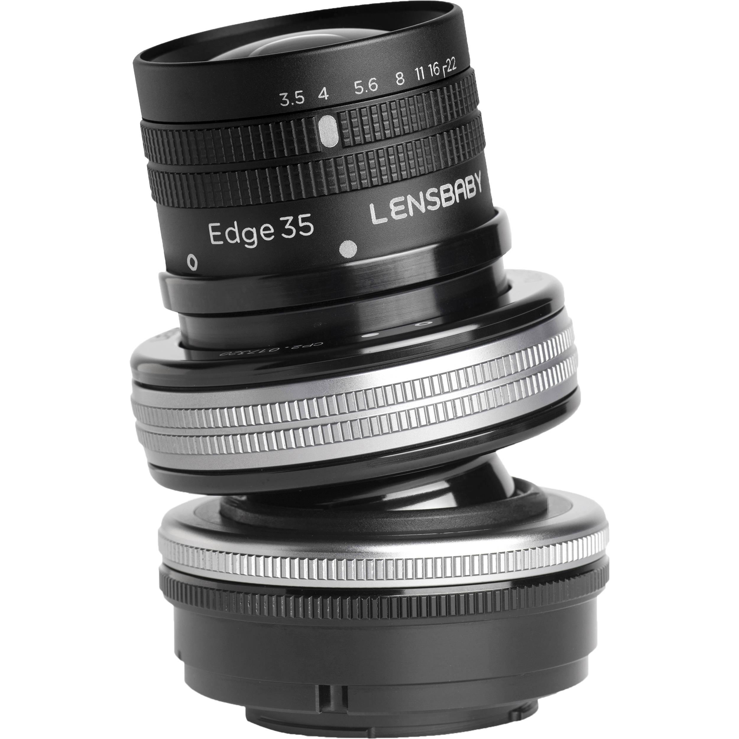 LENSBABY Composer Pro II Edge 35 pro Nikon F