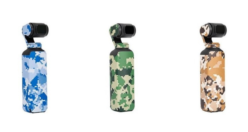DJI OSMO Pocket - Skin (Camouflage set)