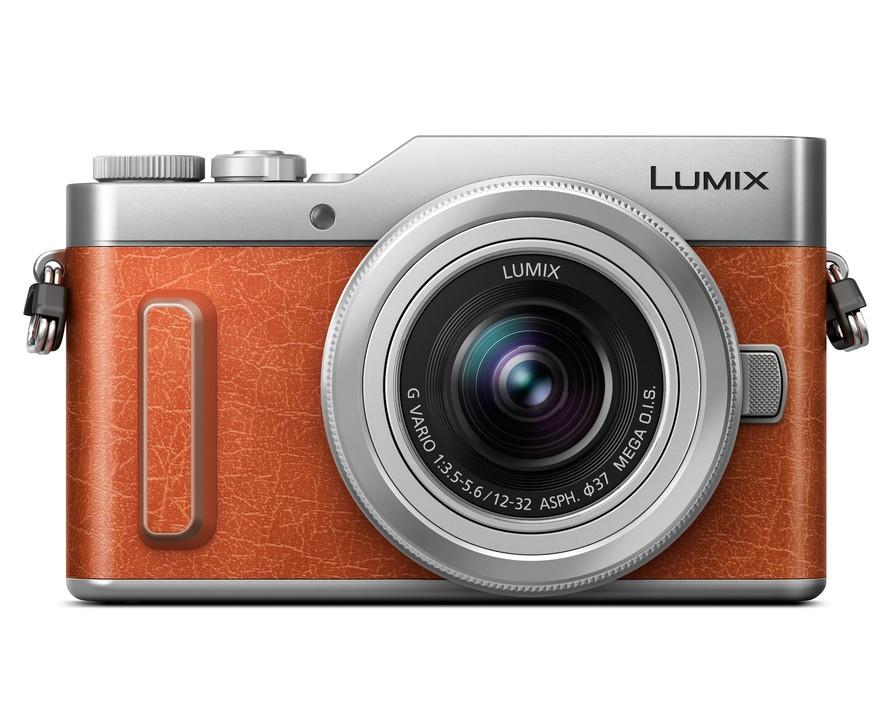 PANASONIC Lumix DC-GX880 + 12-32mm oranžový