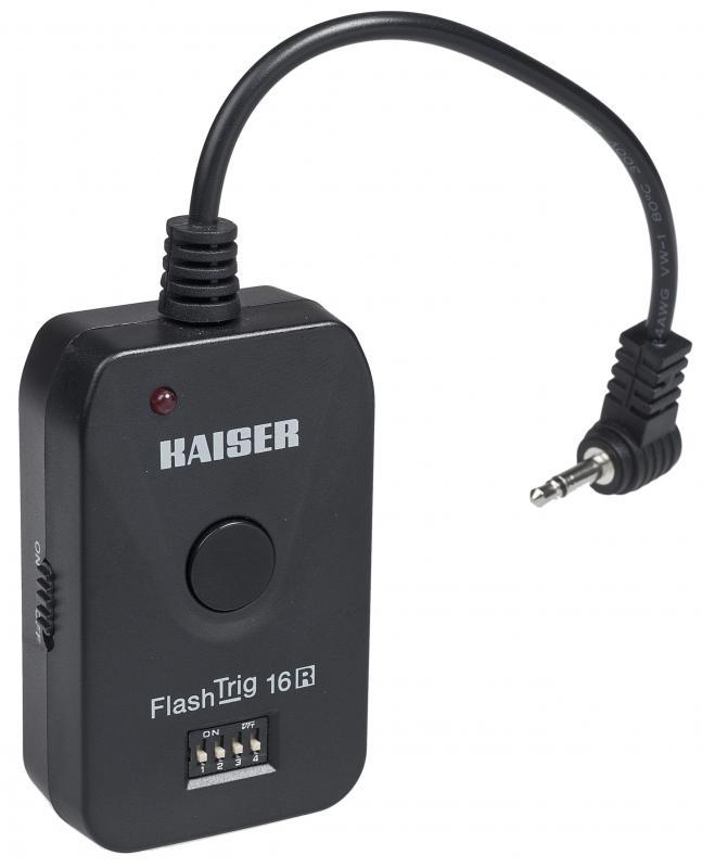 KAISER FlashTrig 16R radiový přijímač