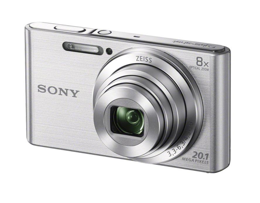 SONY CyberShot DSC-W830 stříbrný - ROZBALENO