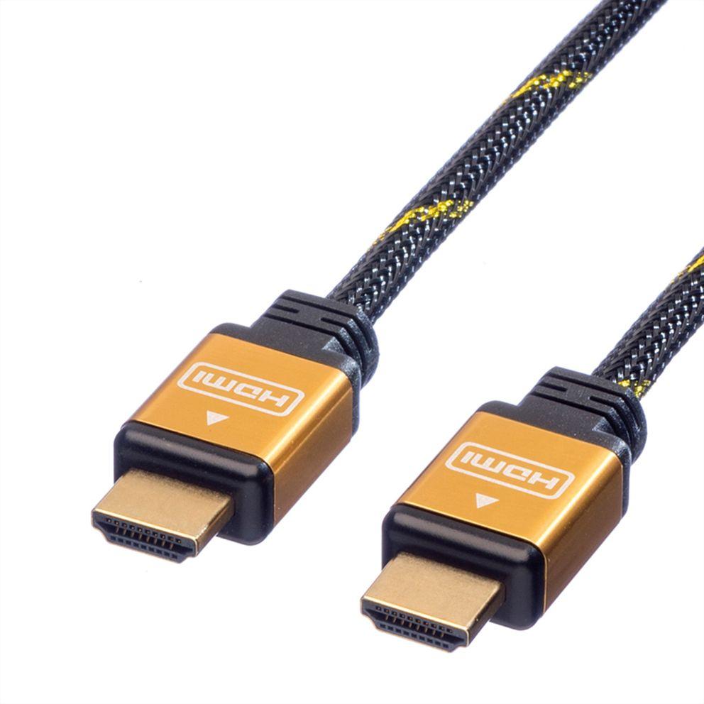 ROLINE HDMI A - HDMI A 5 m zlacené konektory