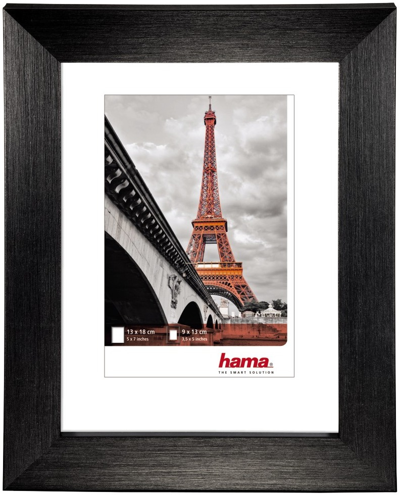 HAMA PARIS rám 10x15 plast, černá