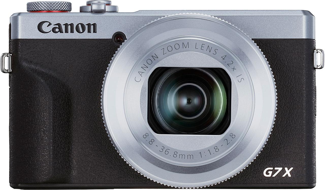 CANON PowerShot G7 X Mark III stříbrný