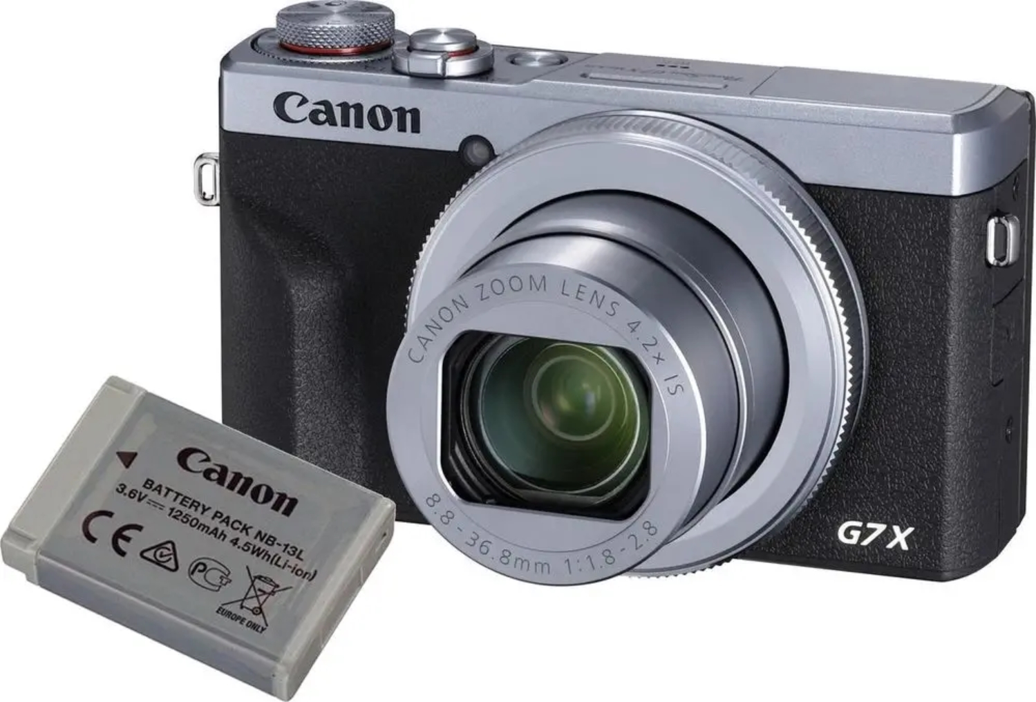 CANON PowerShot G7 X Mark III stříbrný Battery kit