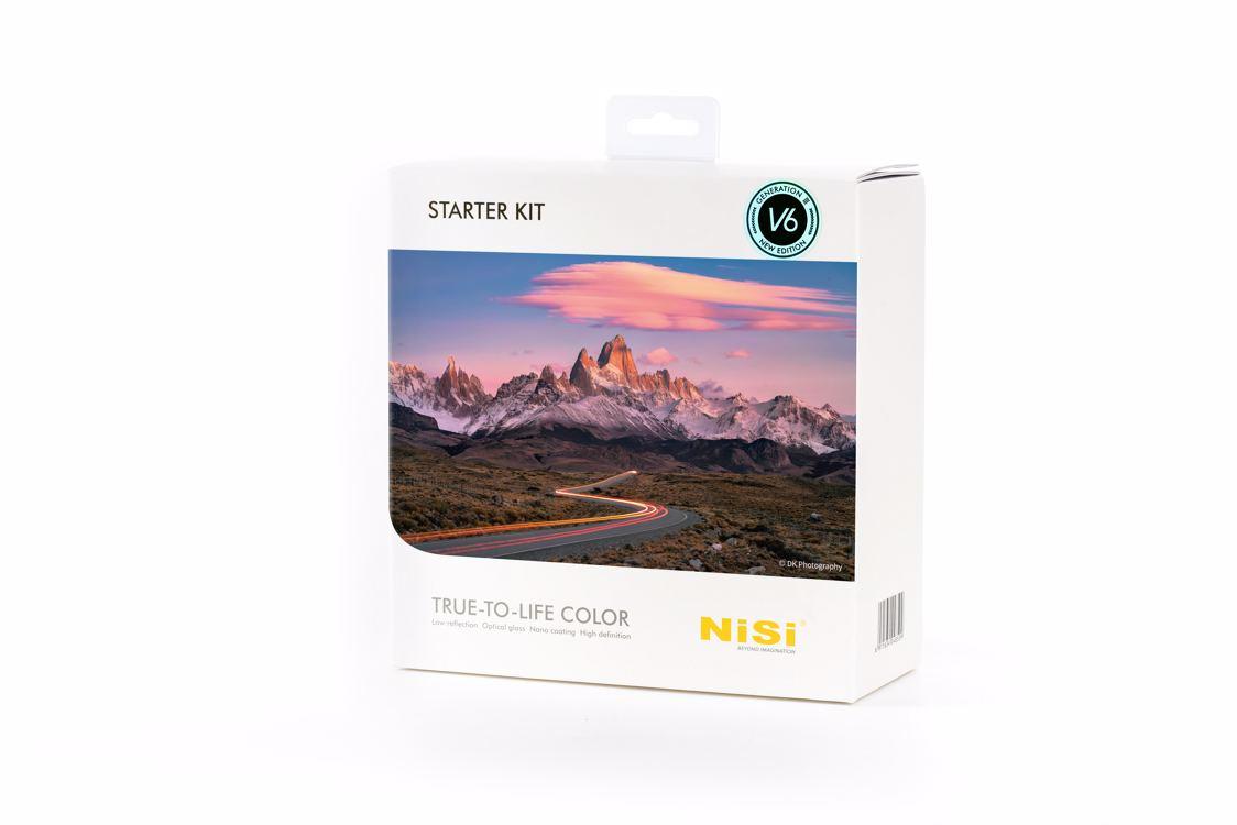 NISI sada filtrů Starter Kit III 100 mm systém V6