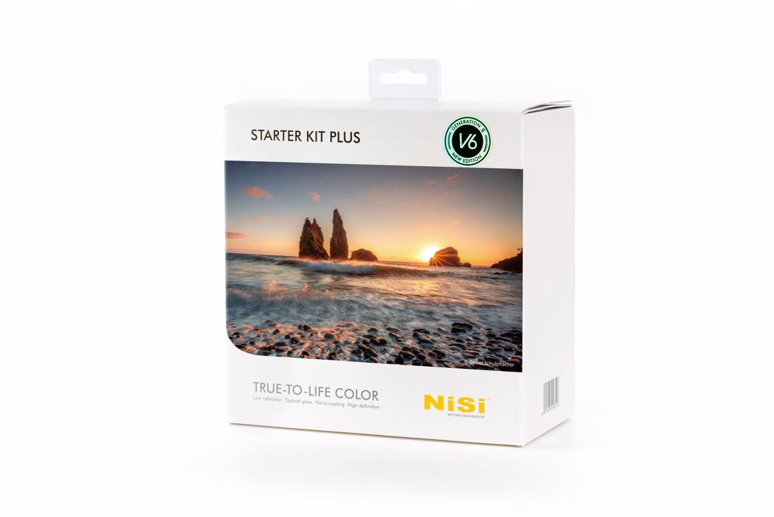 NISI sada filtrů Starter Kit Plus III 100 mm systém V6