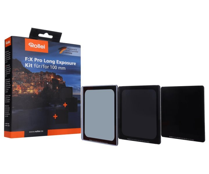 ROLLEI set neutrálních filtrů F:X Pro Long Exposure Kit100x100mm