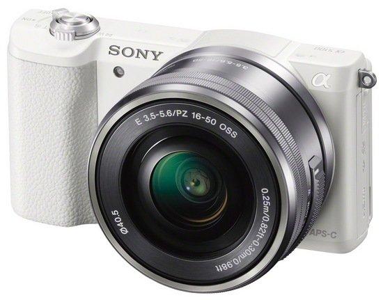 SONY Alpha A5100 bílý + 16-50 mm ROZBALENO