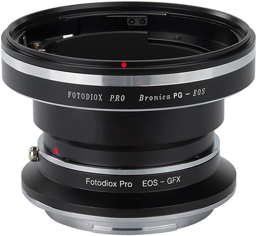FOTODIOX adaptér objektivu Bronica PG na tělo Fujifilm GFX