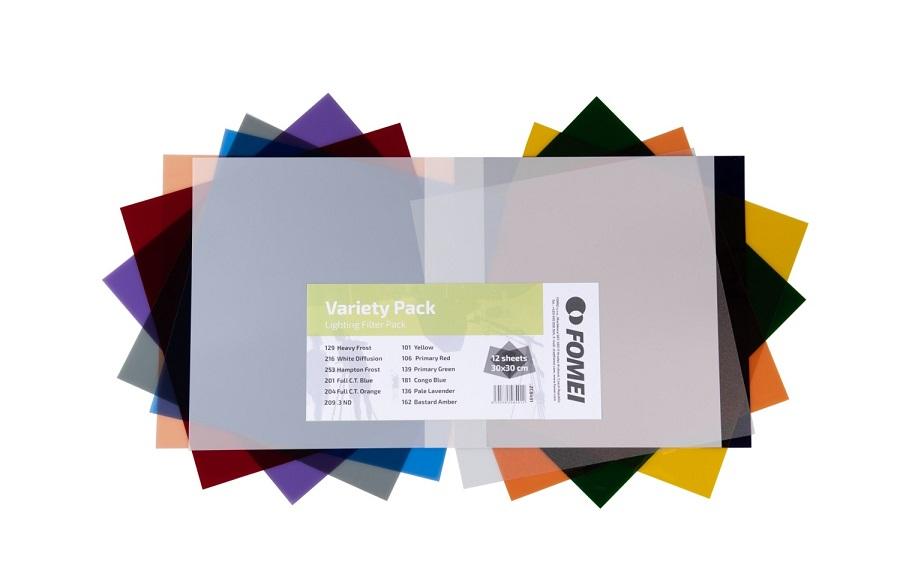 FOMEI Variety Pack sada barevných filtrů 30x30cm