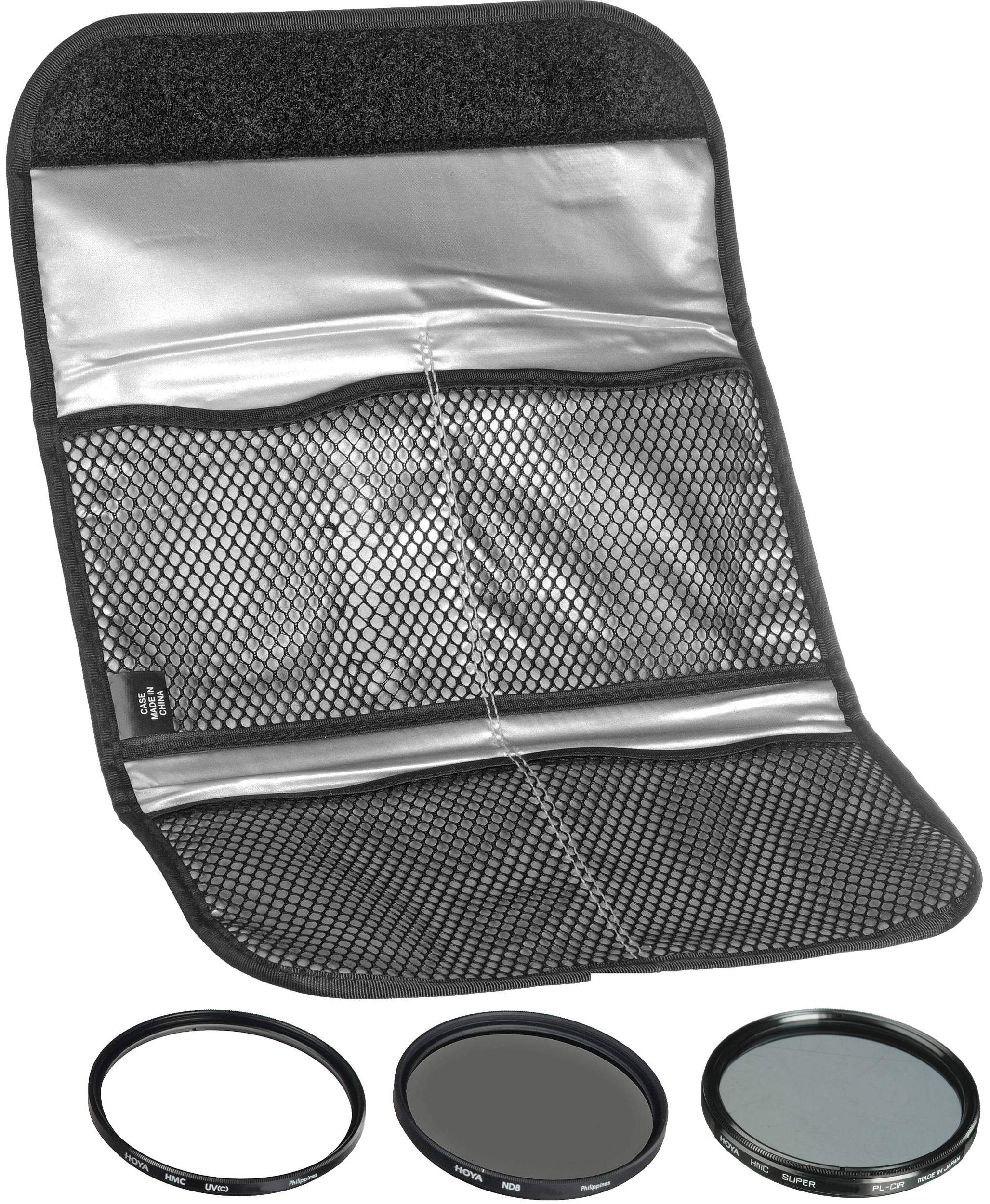 HOYA Digital Filter Kit II UV HMC+POLC Slim+NDX8 62 mm
