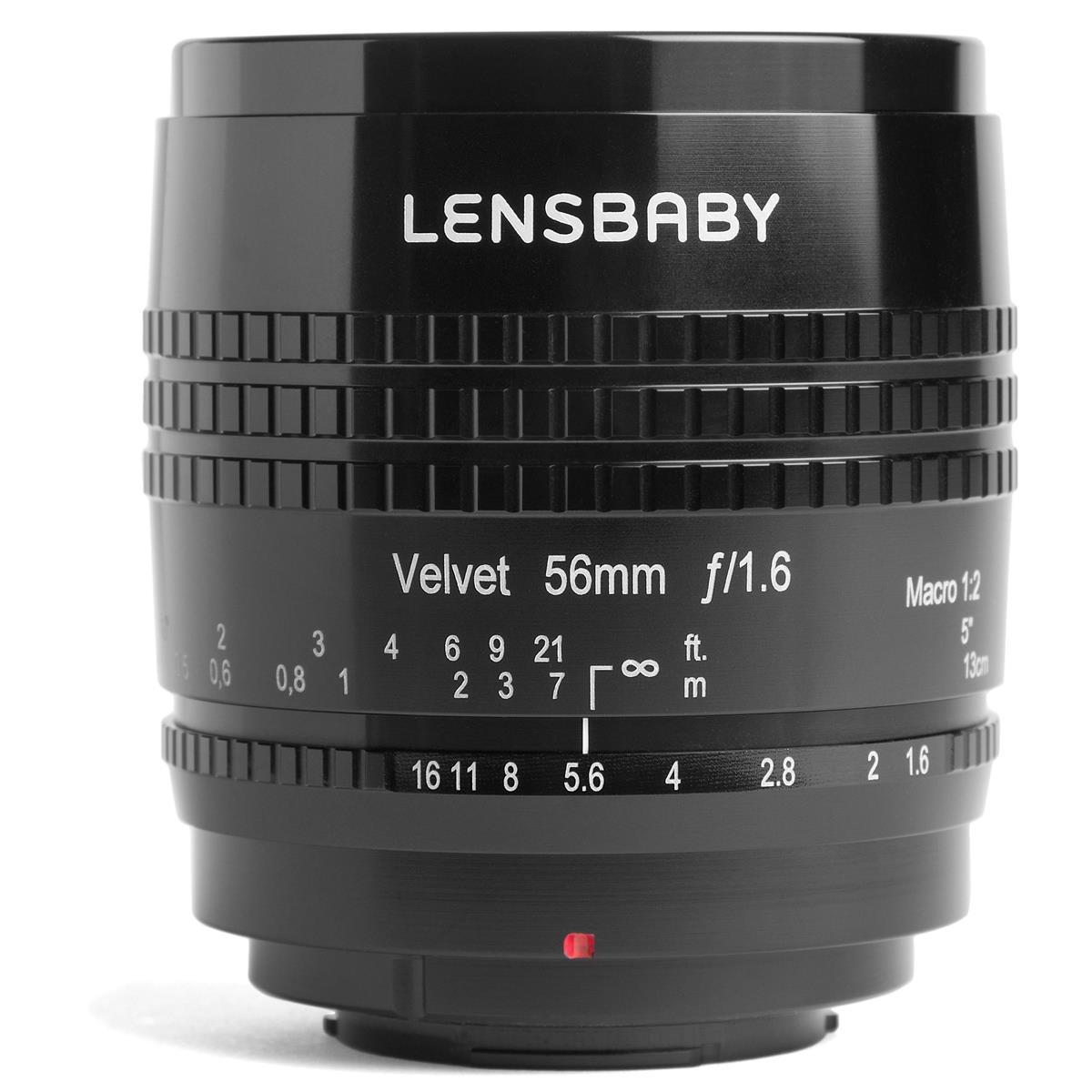 LENSBABY Velvet 56 mm f/1,6 pro Canon RF