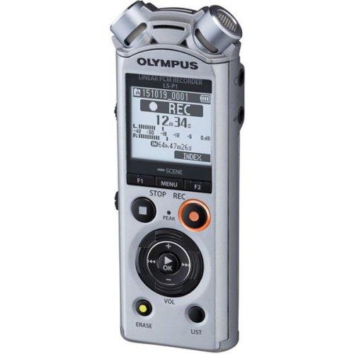 OLYMPUS diktafon LS-P1 stříbrný - Rozbalený - Poškozený obal
