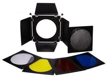 FALCON EYES SFA-BHC set klapek pro studiová světla