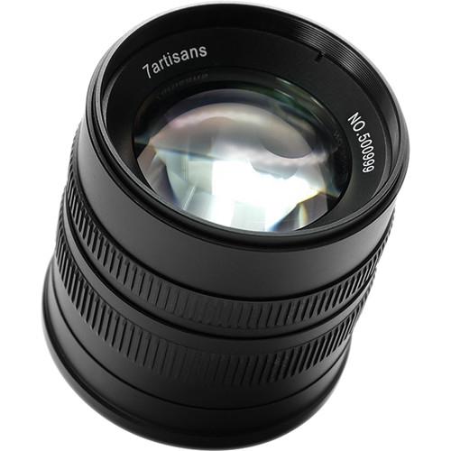 7ARTISANS 55 mm f/1,4 pro Canon EF-M