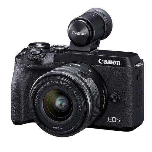 CANON EOS M6 Mark II 15-45 mm + hledáček