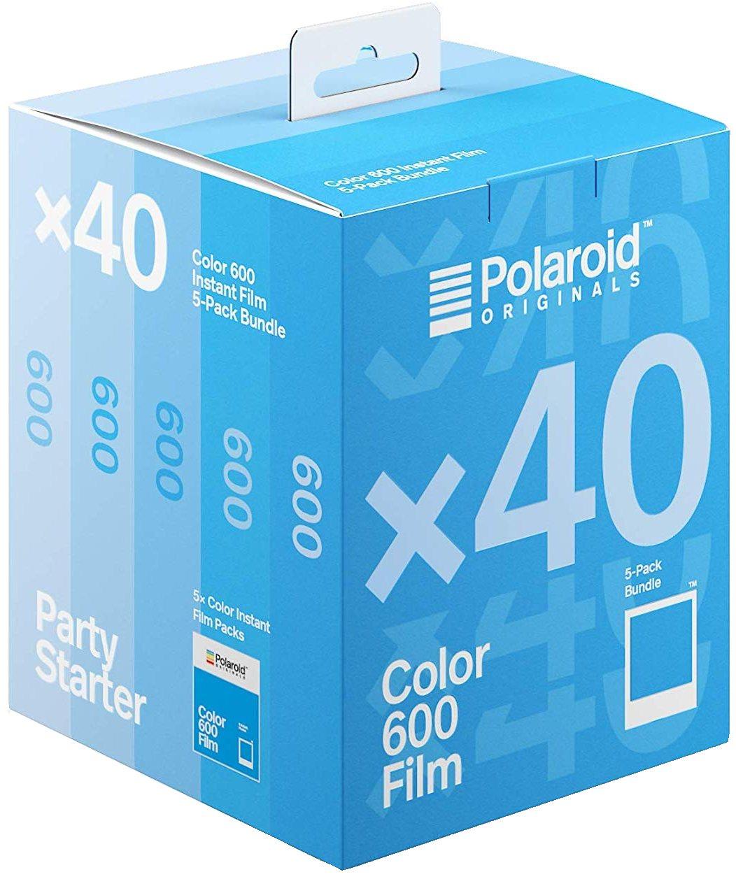 POLAROID BAREVNÝ film pro Polaroid 600 Party Starter 40 snímků