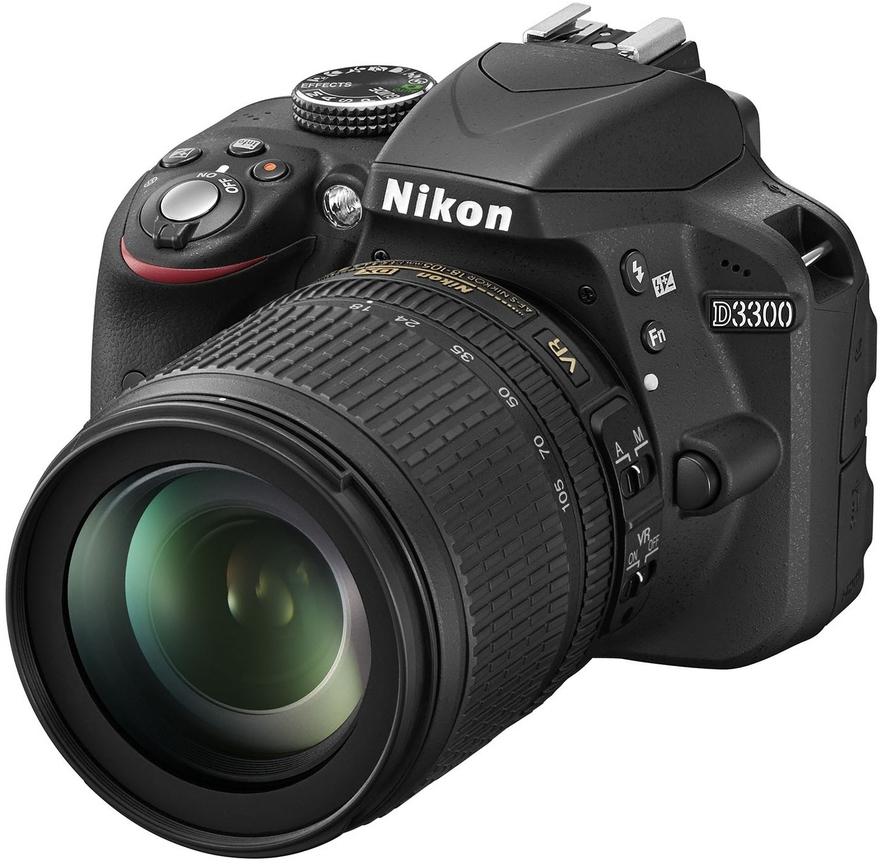 NIKON D3300 + 18-105 mm VR - ROZBALENO