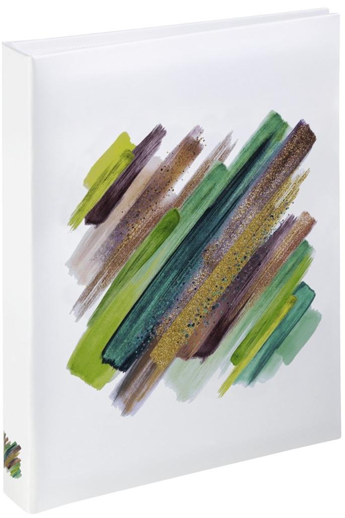 HAMA BRUSHSTROKE 10x15/24, tvrdé desky, zelená