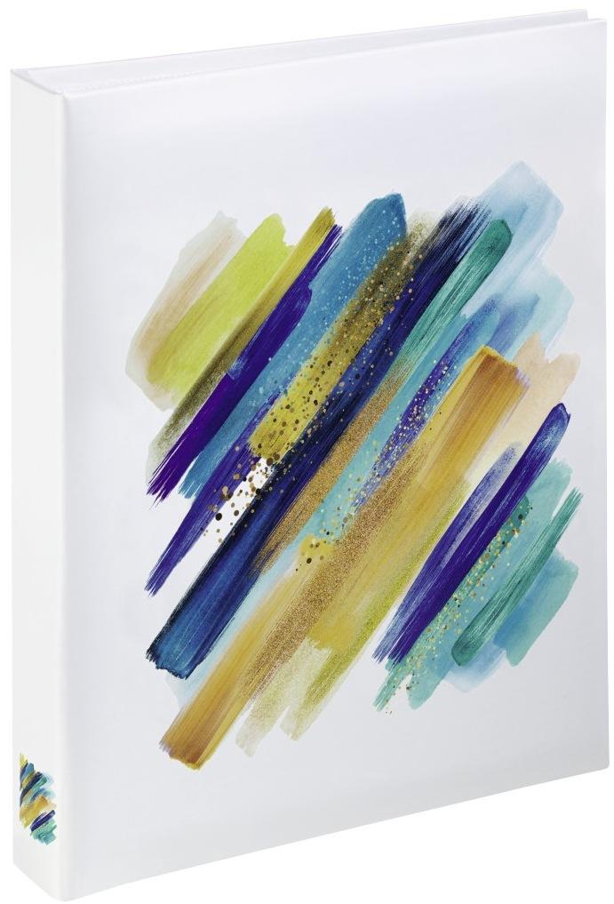 HAMA BRUSHSTROKE 10x15/24, tvrdé desky, modrá