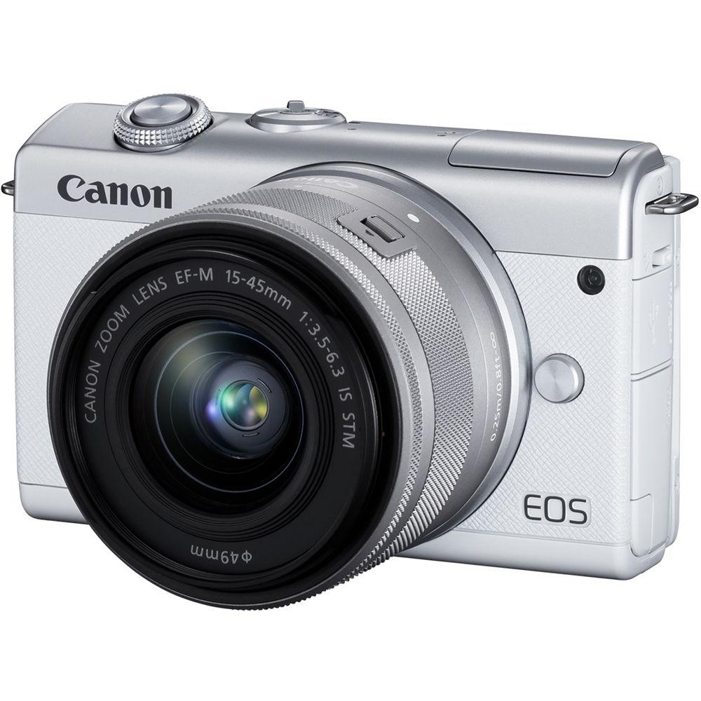CANON EOS M200 + 15-45 mm IS STM bílý