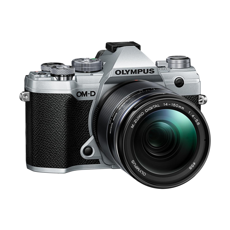 OLYMPUS E-M5 Mark III stříbrný + 14-150 černý