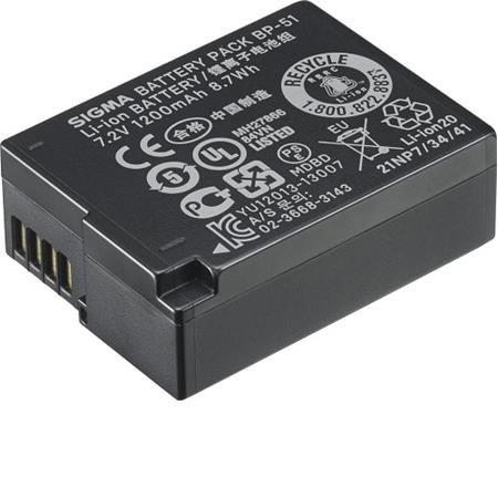 SIGMA BP-51 akumulátor pro fp a dp Quattro