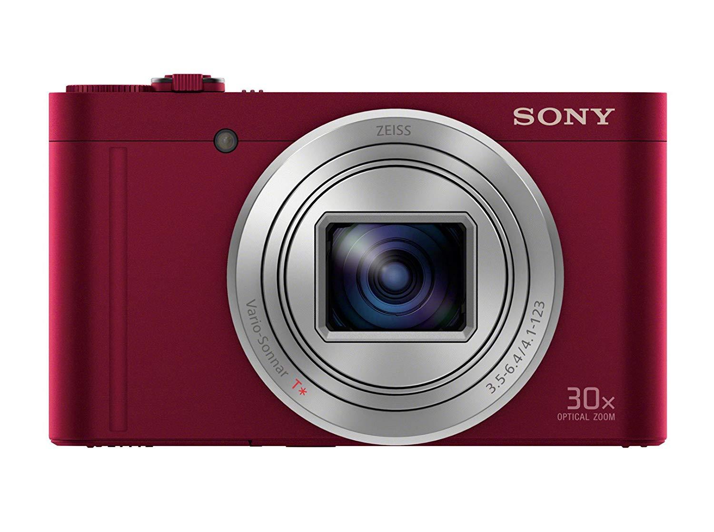 SONY CyberShot DSC-WX500 červený - ROZBALENO
