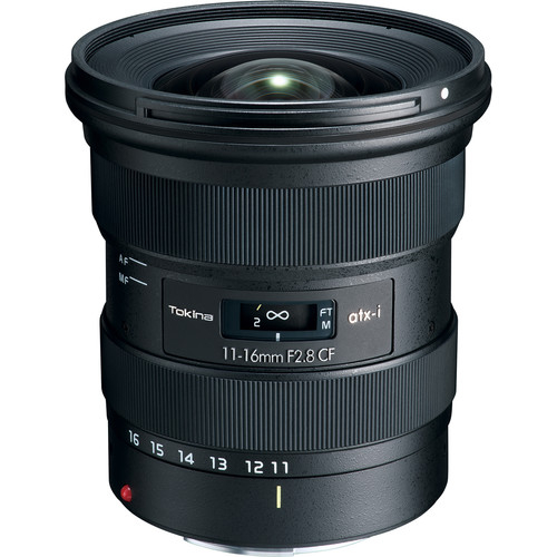 TOKINA 11-16 mm f/2,8 atx-i CF pro Canon EF (APS-C)