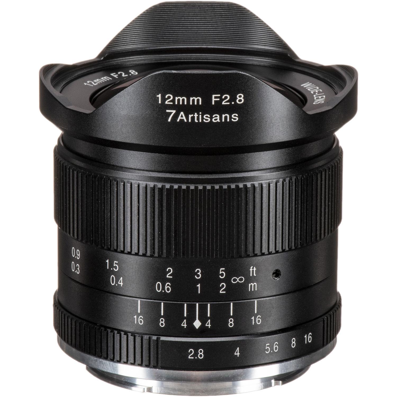 7ARTISANS 12 mm f/2,8 pro Canon EF-M