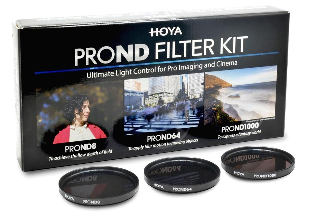 HOYA ND KIT 8/64/1000 PROND 55 mm