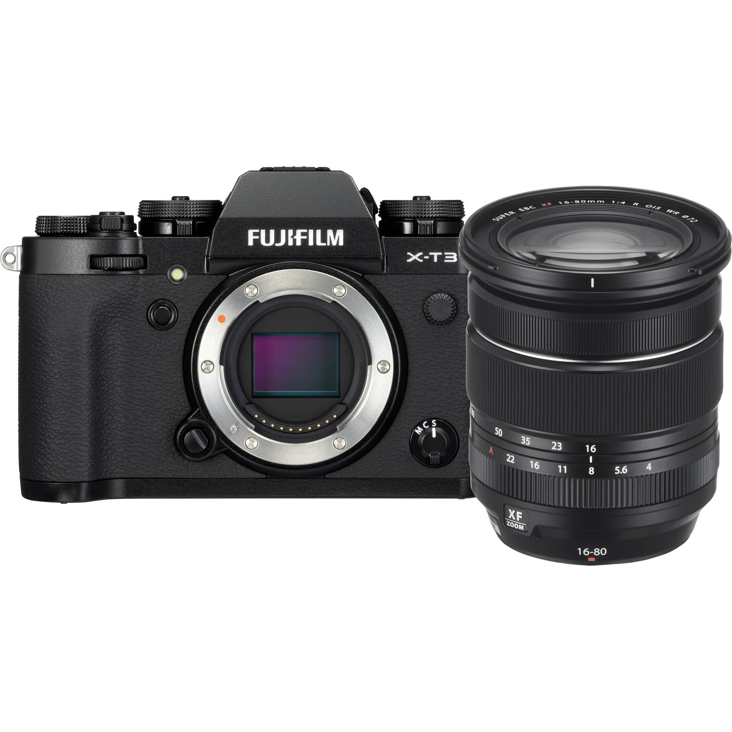 FUJIFILM X-T3 + 16-80 mm černý
